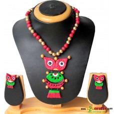 Terracotta Jewellery , Owl