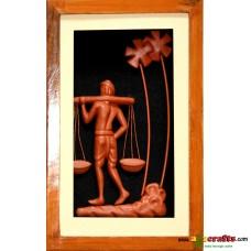 Teracotta Pheriwala-- Bucket man