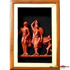 Terracotta Fisherman Family