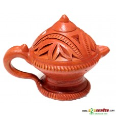 Teracotta decorative Aladin Diya