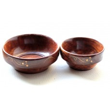 Bowl set- wooden, Sharanpur crafts