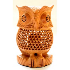 "Owl - 6""  wooden, handcrafted"