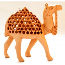 "Camel -4"" wooden, handcrafted"