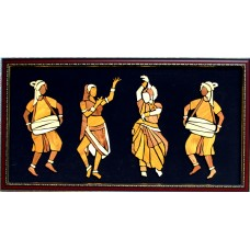 Dance- Wooden Collage painting